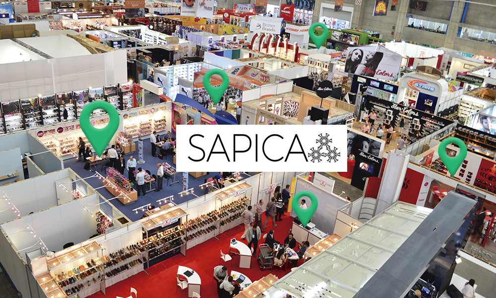 Over 200 international companies at SAPICA. – Shoes From México
